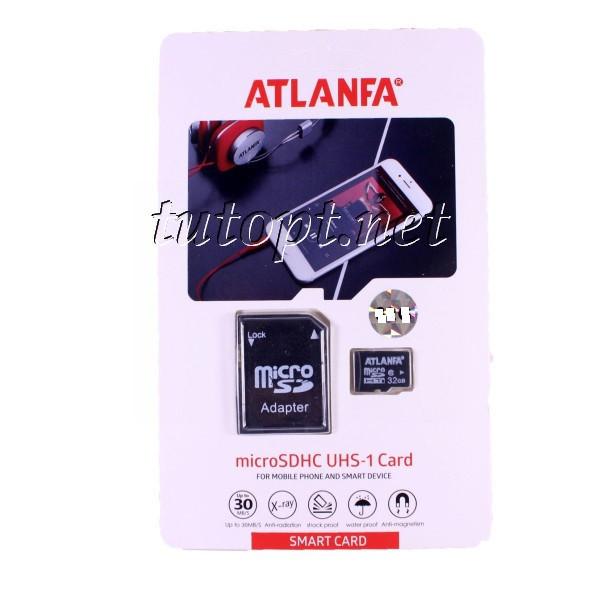 "Карта памяти  Atlanfa 64GB ""ОРИГИНАЛ"" - Premium. Гарантия 1 год"
