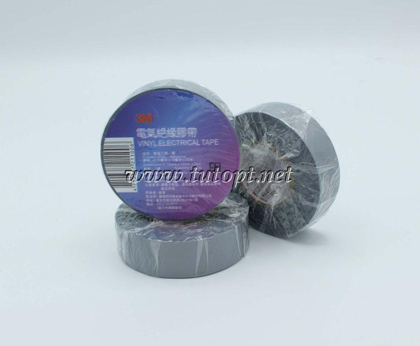 """Изолента """"3М"""" виниловая, Серый длина - 20м, ширина - 19мм, толщина - 0,13мм."""