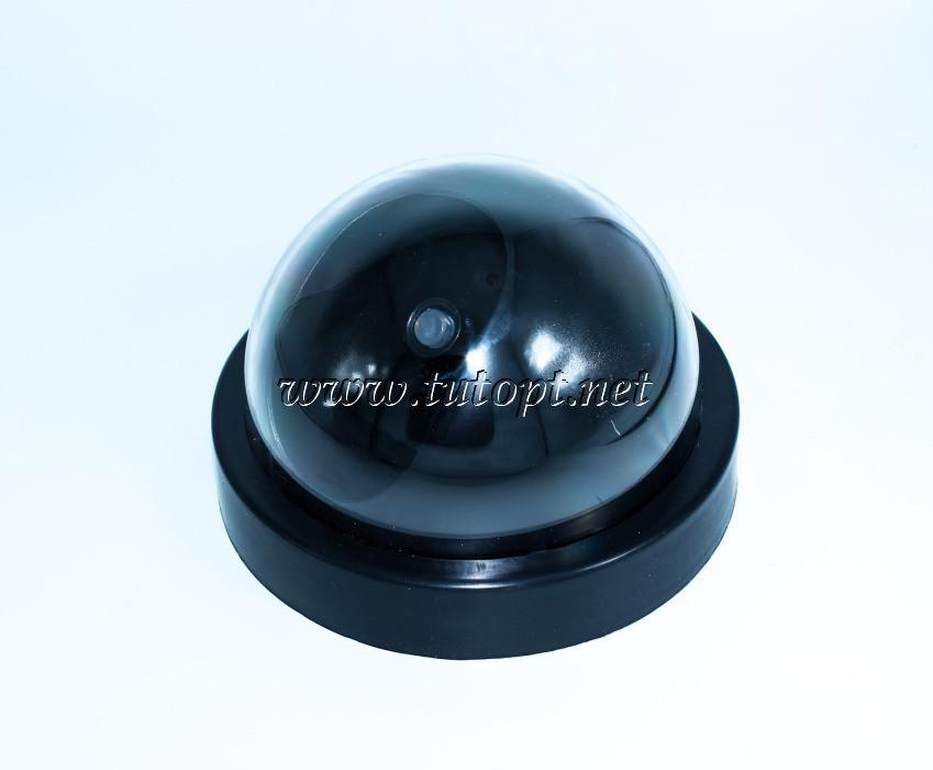 Купольная камера видеонаблюдения МУЛЯЖ (на батарейках)