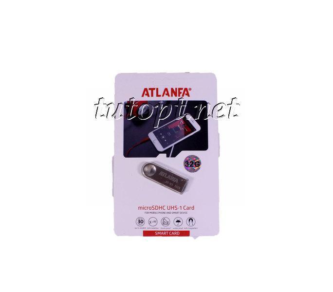 Флешка Atlanfa 32GB AT-U3. Гарантия 1 год