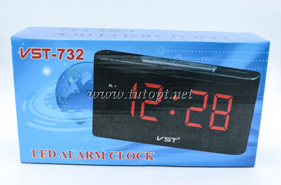 Электронный будильник VST-732 в розетку 220V