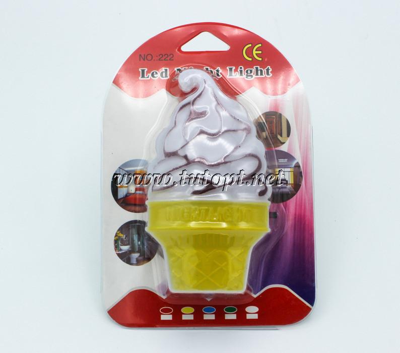 """Ночник """"Морожиное"""" на светодиодах с выключателем 220V 5 LED"""