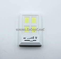 Фонарь WD042 в виде выключателя с регулятором /Батарейки/Подвесной. Магнитное крепление