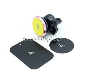 Магнитный держатель для телефона в автомобиль hoco CA3