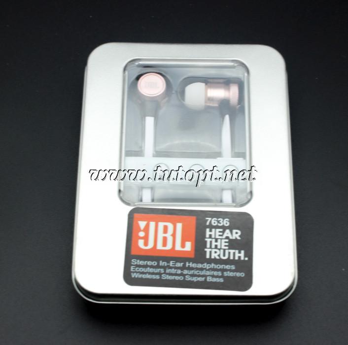 Беспроводные вакуумные наушники JBL 7636 Реплика
