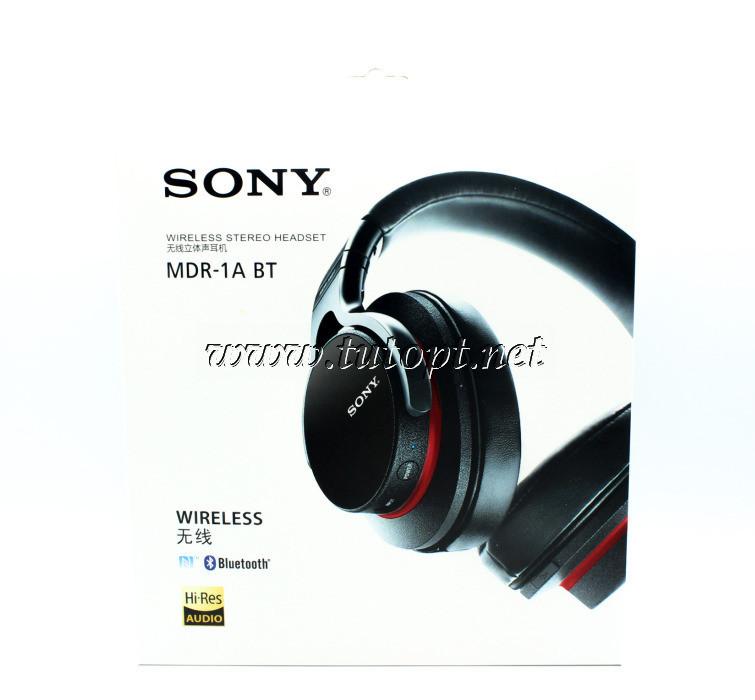 Наушники беcпроводные Sony MDR-1A BT с Bluetooth,
