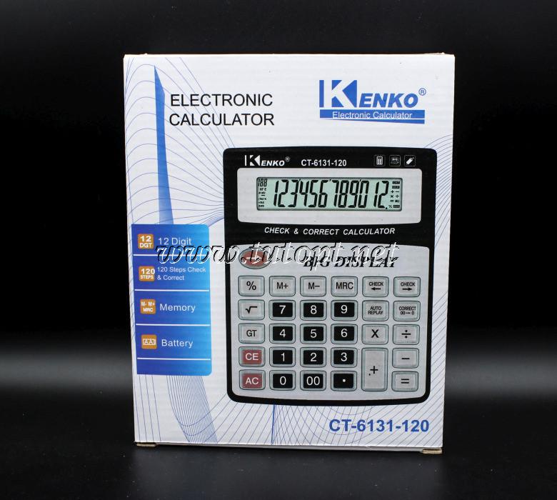 Калькулятор KENKO CT-6131-120