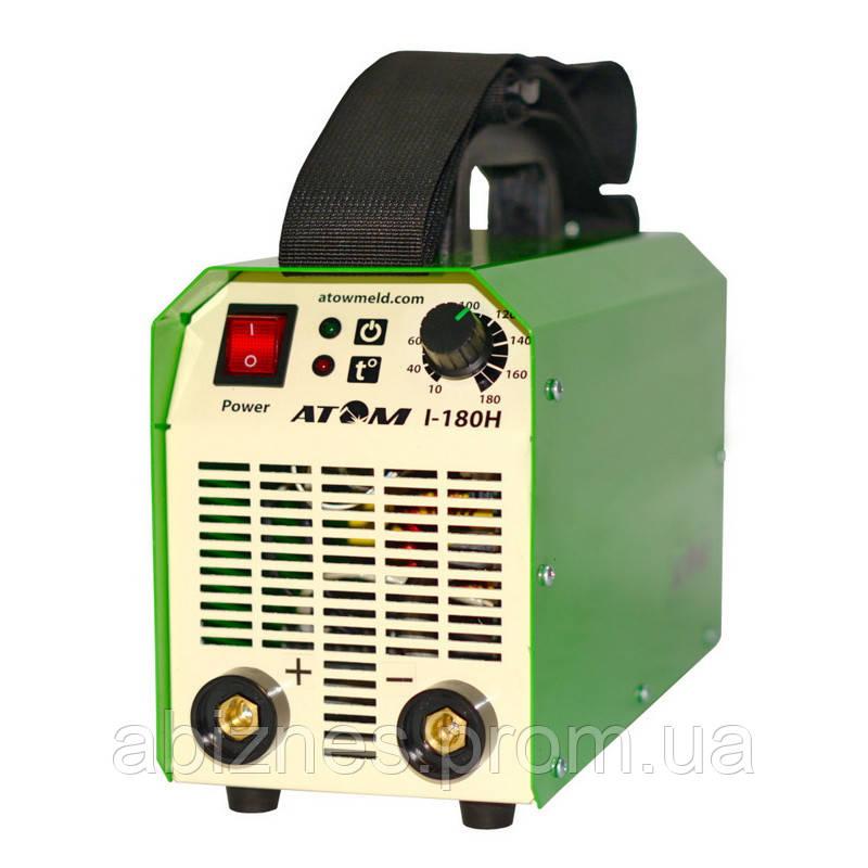 Сварочный инвертор АТОМ I-180H с комплектом сварочных кабелей (вариант F)