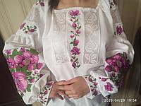 """Вишита жіноча сорочка """"Герань"""", фото 1"""