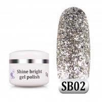 Гель паста Shine Bright SB 02, 5 г, фото 1