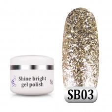 Гель паста Shine Bright SB 03, 5 г