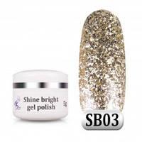 Гель паста Shine Bright SB 03, 5 г, фото 1