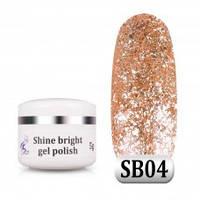 Гель паста Shine Bright SB 04, 5 г, фото 1