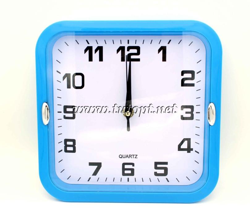 Настенные часы 227 21,5*21,5*4 (Разные цвета )