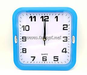 Настенные часы 227 21,5*21,5*4 Синий