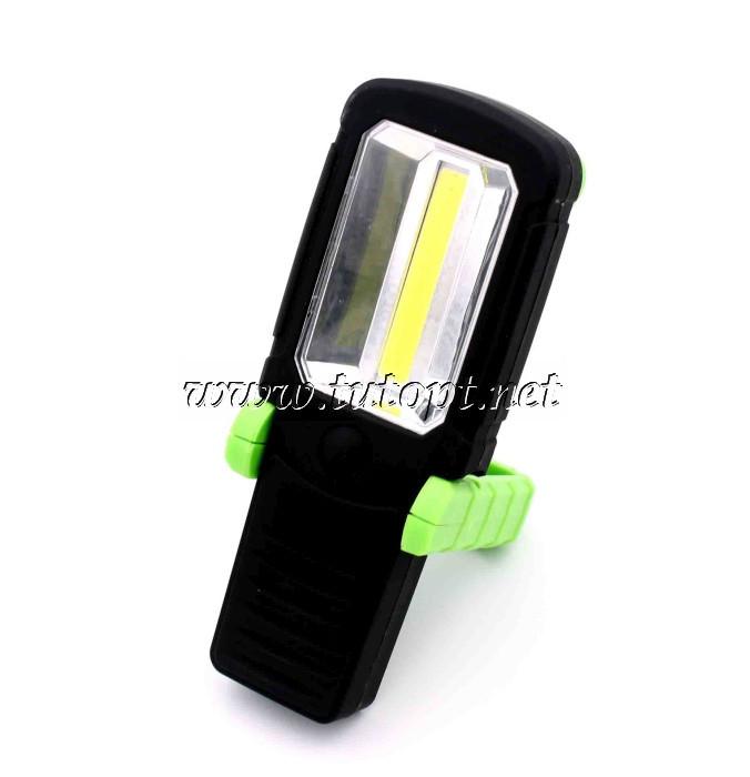 Лампа переносная светодиодная BL-205 - 4596 COB/3R3/Магнит/Крюк/Зеленый