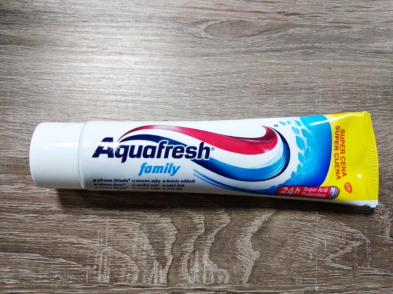 Зубна паста Aquafresh Family 100 мл.