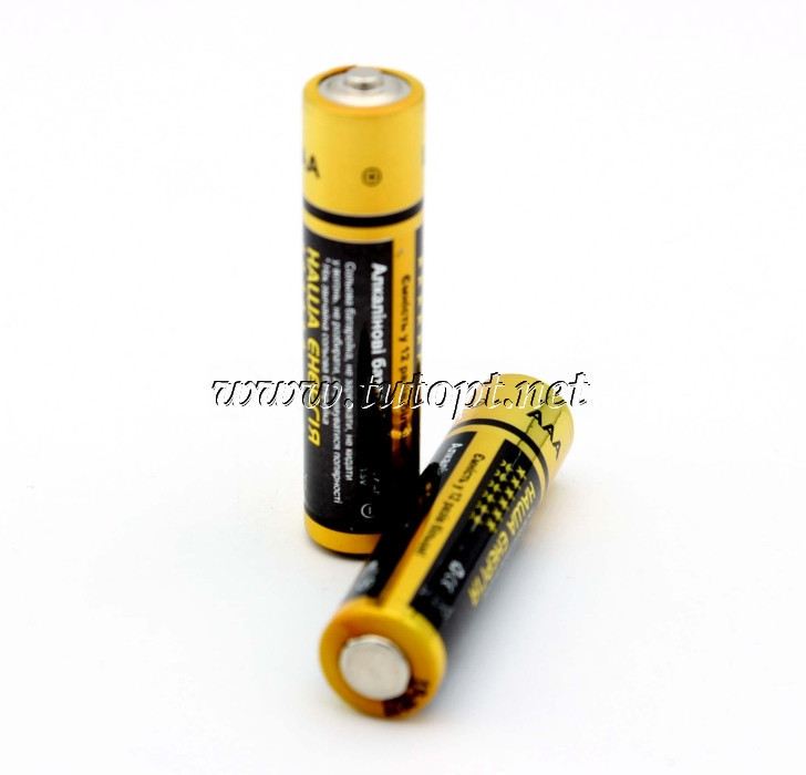 Батарейки Alkaline Наша Энергия R6/AA коробка - 40штук