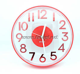 Настенные часы MS8812 25*25*4 Красный