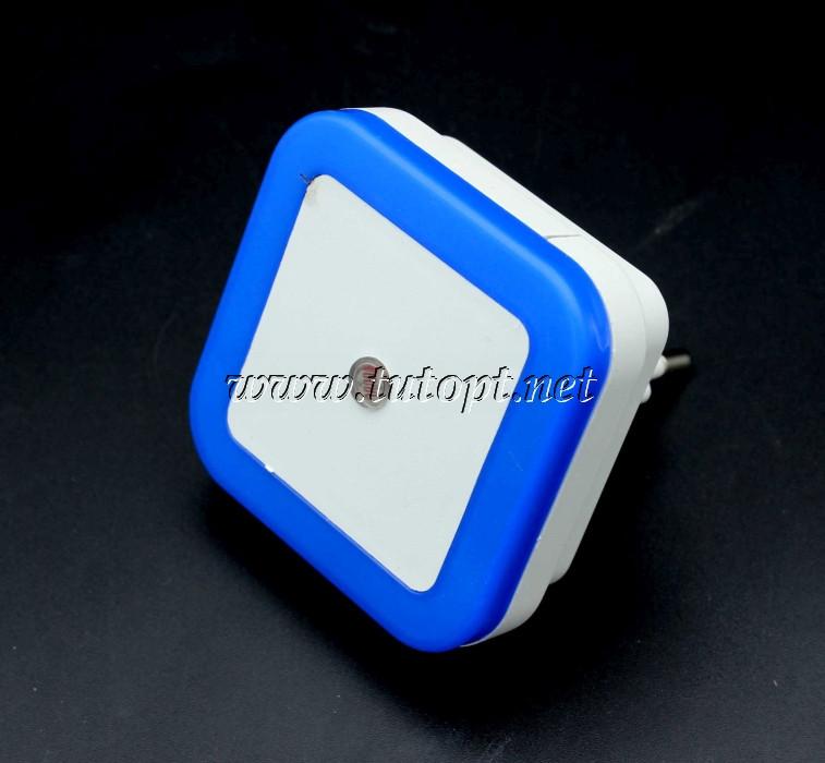 Нічник світлодіодний з датчиком Синій квадрат №250