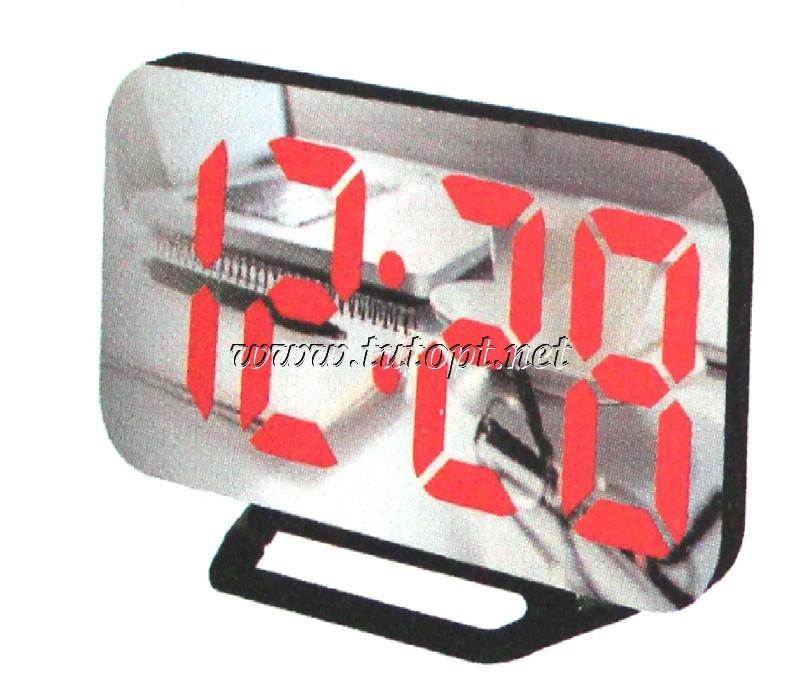 """Электронный будильник DS-3625L """"Красная подсветка"""""""