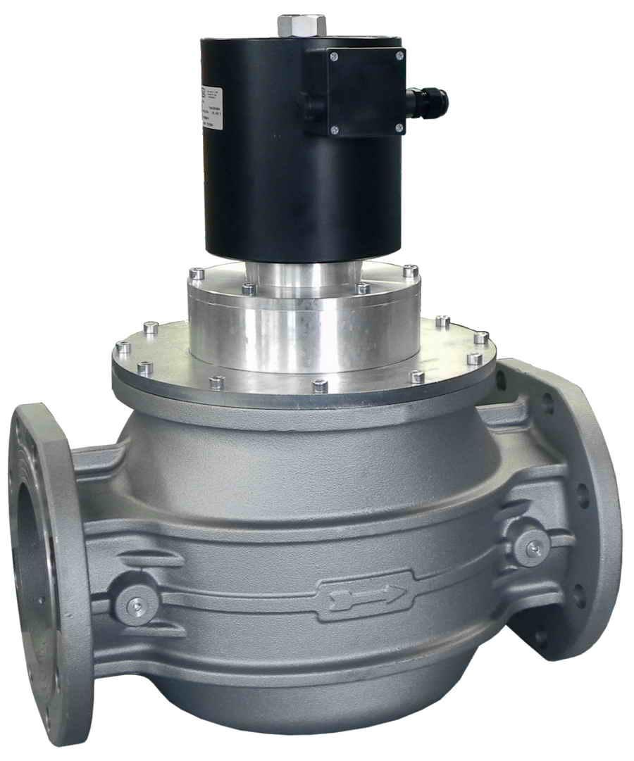 Электромагнитный клапан EV-3, DN150, P=3 bar (MADAS)
