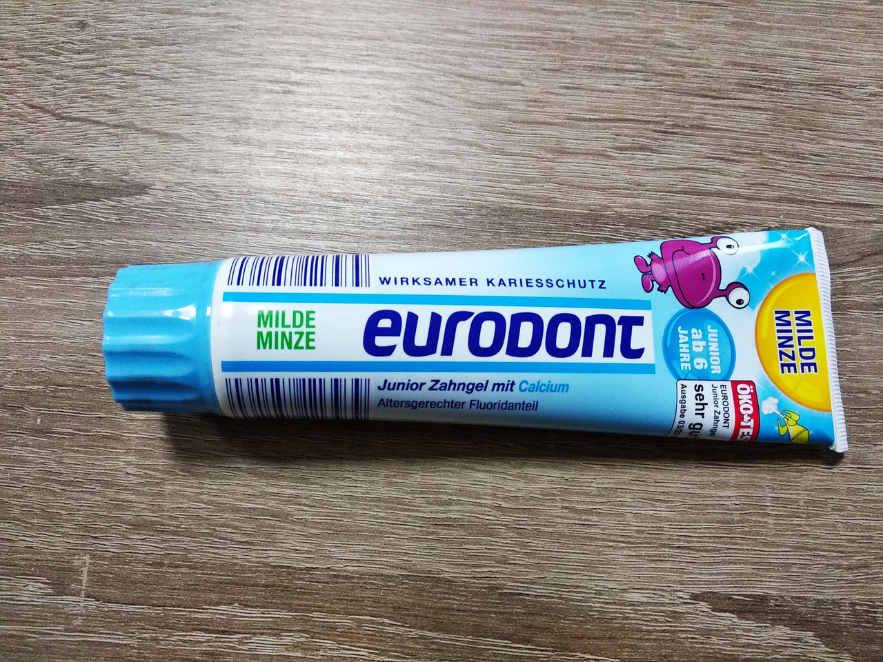 Дитяча зубна паста Eurodont 100 мл.