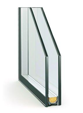 Однокамерный стеклопакет (24 мм)