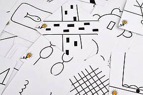 Настольная игра Друдлы (чорно-біла версія), фото 2