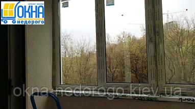 ПВХ скління лоджії 6 м, фото 2