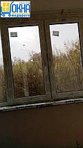 ПВХ скління лоджії 6 м, фото 3