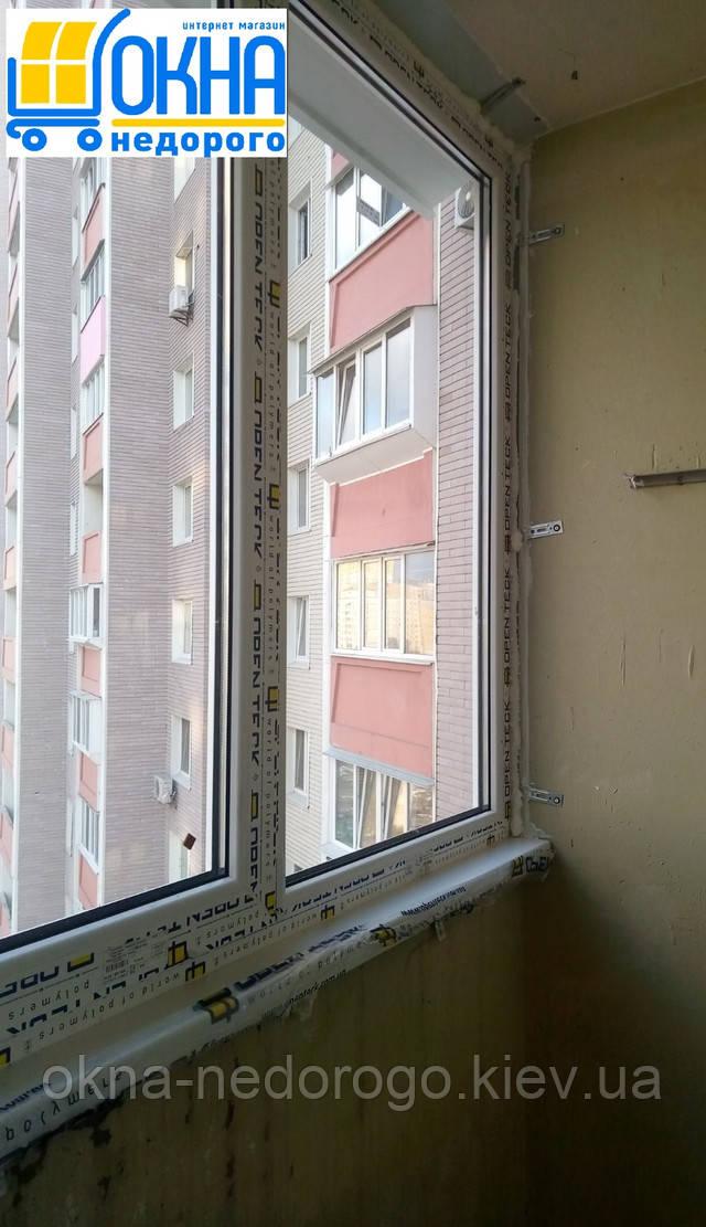 Скління лоджії в Києві на пр. Петра Григоренка