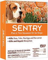 Sentry СЕНТРИ КАПЛИ от блох, клещей и комаров для собак весом 7-15 кг