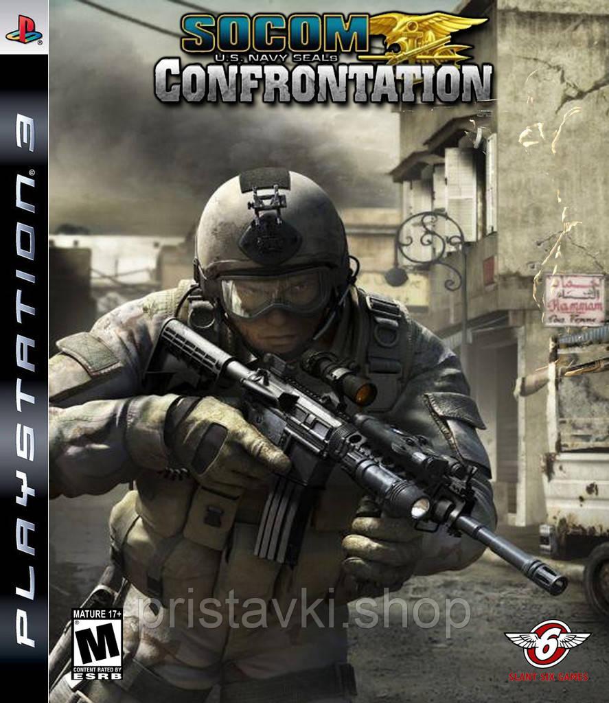 SOCOM: U.S. Navy SEALs Confrontation PS3