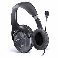 Навушники SVEN AP-670MV black, дротові навушники гарнітура, навушники з оголовьем, фото 1