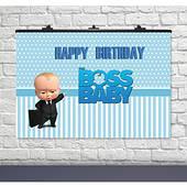 Плакат для праздника Босс Молокосос (Baby Boss) 75 СМ Х 120 СМ