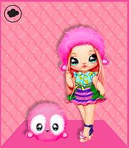 Мягкая Кукла На На На сюрприз Обезьянка Нина Nina Nanners Na! Na! Na! Surprise 2-in-1 Fashion Doll  MGA