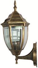 Уличный настенный светильник Lemanso PL5201 античное золото(бронза)