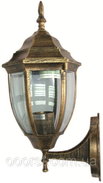Уличный настенный светильник Lemanso PL5101 античное золото(бронза)