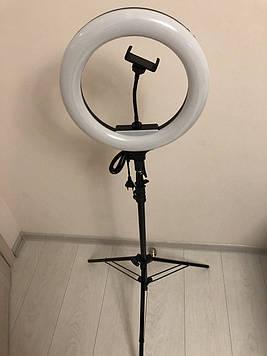 Професійна кільцева лампа AL-33 36 Вт , тримач для телефону , пульт , штатив 2 м