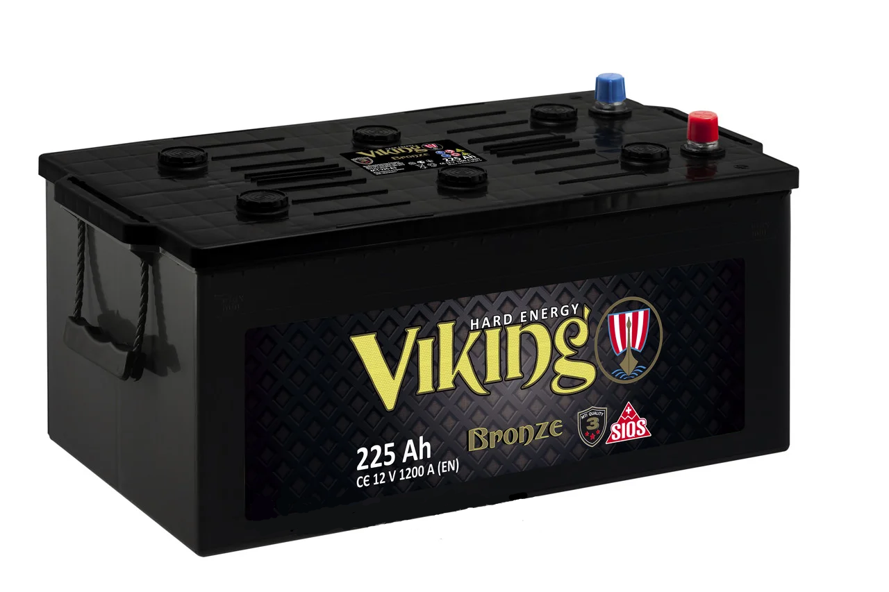 Акамулятор Viking 225 Ah/12V (1200)  -+ Evro  Бронза  Україна
