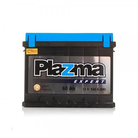 Акумулятор стартерний Plazma EXPERT 6СТ-60 Евро, фото 2
