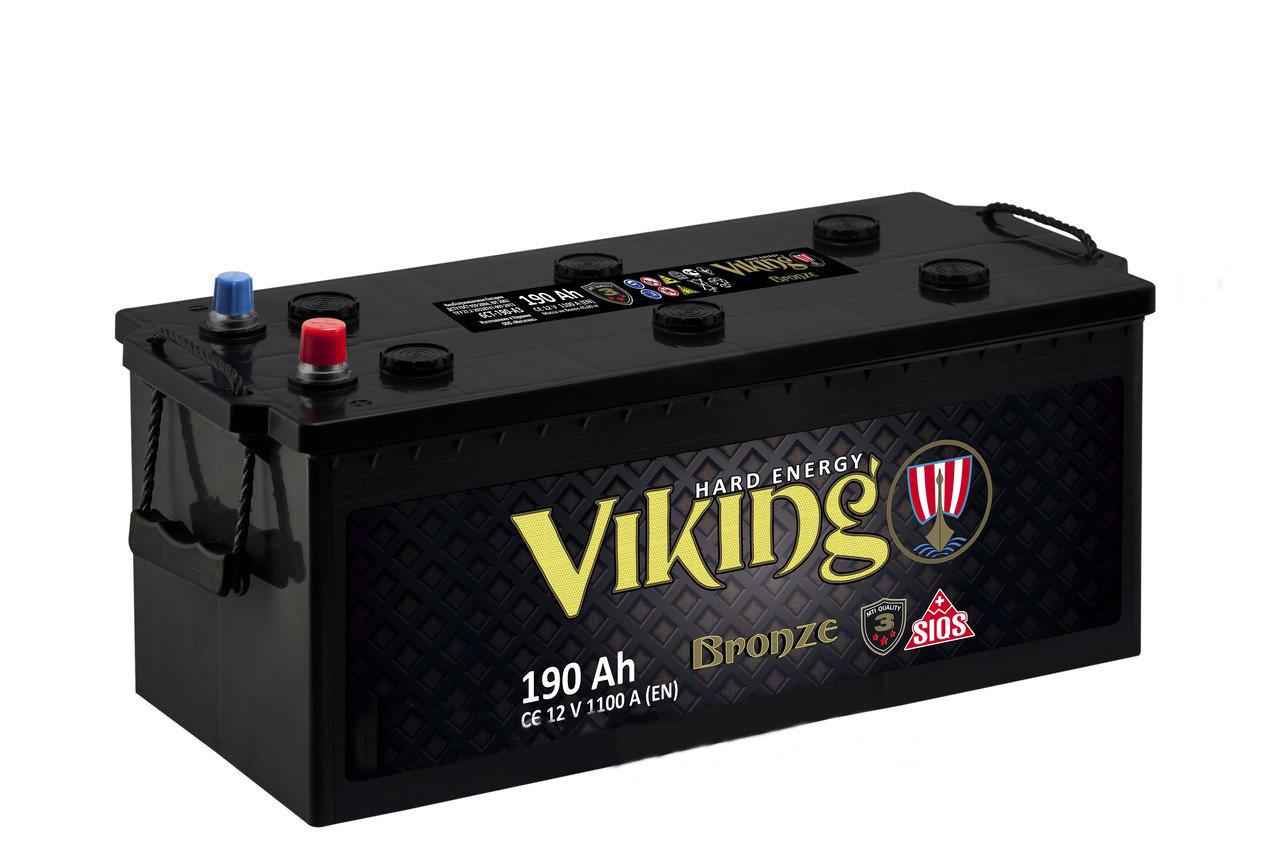 Акамулятор Viking 190 Ah/12V (1100)  -+ Evro  Бронза  Україна