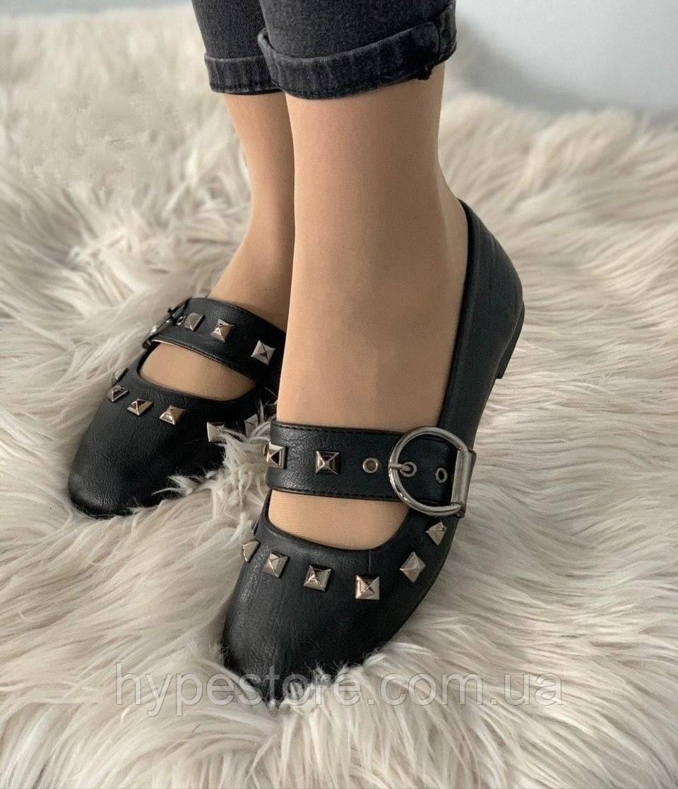 Модельные женские балетки, туфли черного цвета, см.размеры в ПОЛНОМ описании товара!