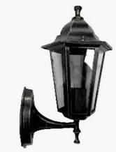 Уличный настенный светильник Lemanso PL6201 черный