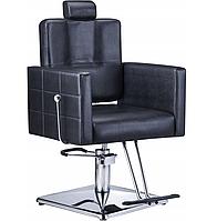 Парикмахерское кресло с подставкой для ног