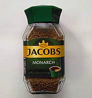 Якобс Монарх Jacobs Monarch кофе растворимый, 190 г. Стеклянная банка