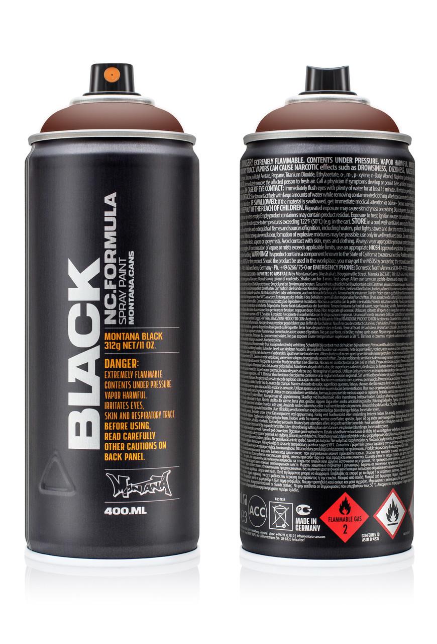Краска Montana BLK1080 Темно-бордовый (Maroon) 400мл