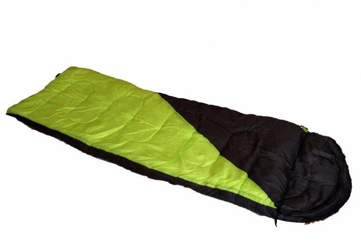 Спальный мешок одеяло  Adventuridge Mumien Schlafsack салатовая вставка (Германия)