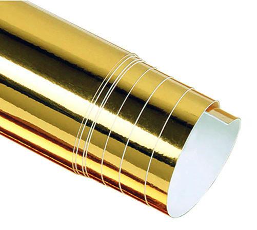 Авто пленка CARLIKE золотая зеркальная 10 x 152cm глянцевая декоративная отражающая (AVp-009-10)